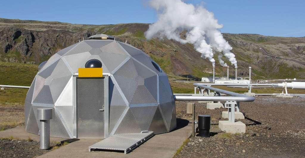 Système de géothermie en Islande. © Cybercrisi, Shutterstock