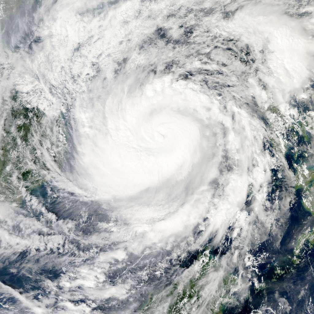 Le typhon Haiyan vu par l'instrument Modis du satellite américain Terra le 9 novembre 2013. © Nasa, GSFC, Modis Rapid Response