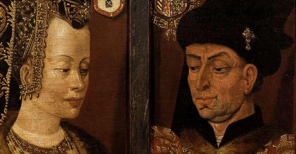 Philippe le Bon et Isabelle de Portugal. © Musée des beaux-arts de Gand, Wikimedia Commons, DP