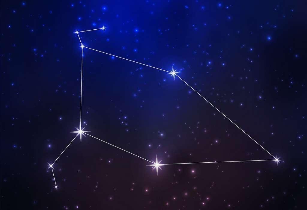 Les Céphéides sont des étoiles variables pulsantes. Leur période est de un et quelques dizaines de jours. Et leur éclat oscille entre 0,1 et 2 magnitudes. © foxyliam, Fotolia