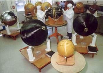 Sphères de stockage d'ergols © EADS