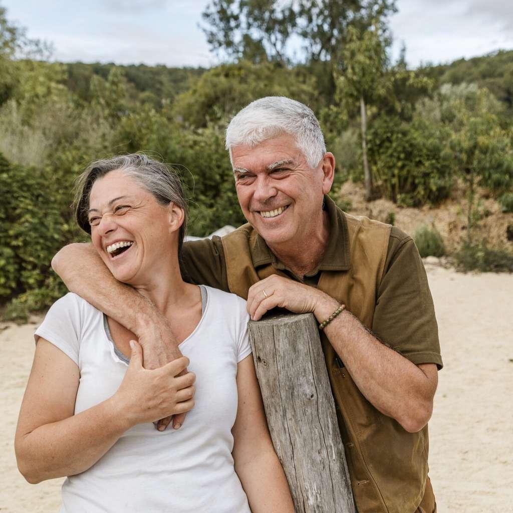 Charles et Perrine Hervé-Gruyer, fondateurs de la ferme du Bec Hellouin où ils expérimentent la forêt-jardin. © Clément Thiers, Yann Arthus-Bertrand, tous droits réservés