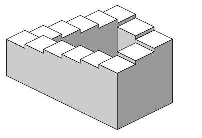 L'escalier sans fin de Penrose