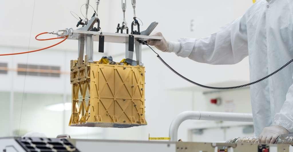Moxie est le premier instrument à produire de l'oxygène sur un autre monde. © Nasa, JPL-Caltech