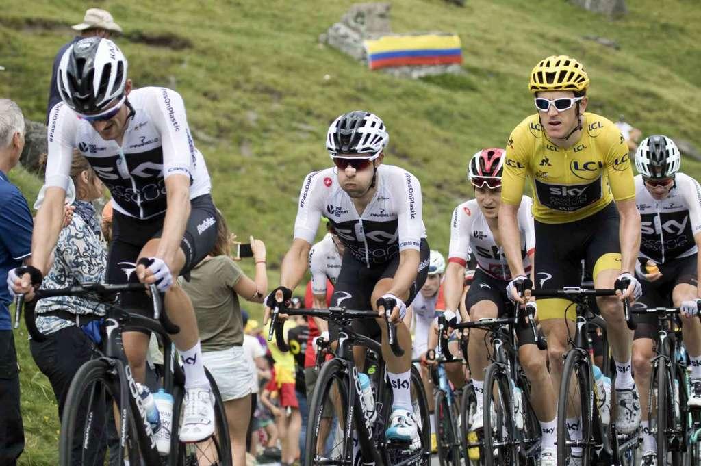 Sur certaines étapes du Tour, les cyclistes peuvent brûler jusqu'à 8.000 calories. © filip bossuyt, Flickr