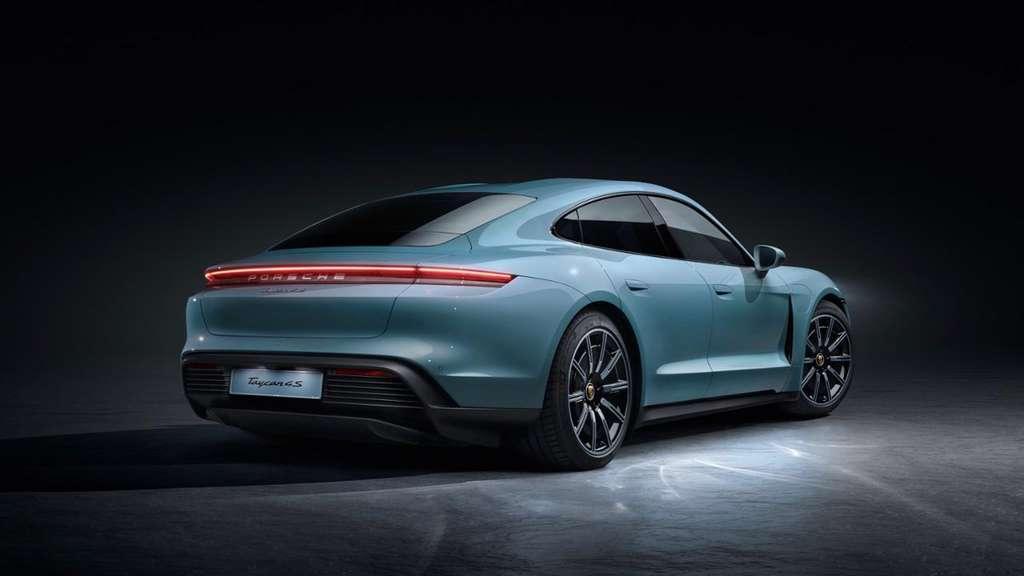 La Porsche Taycan 4S. © Porsche