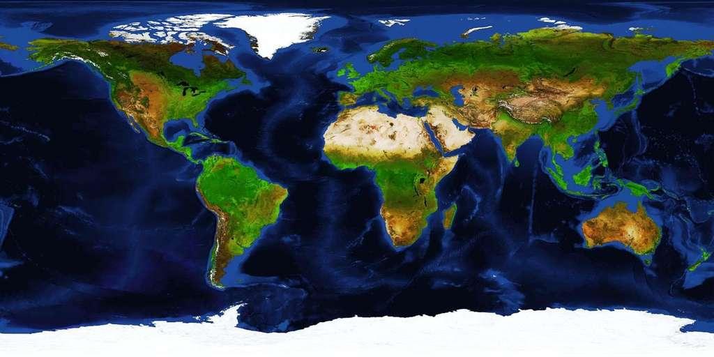 Spot, l'instrument Vegetation et l'étude du couvert végétal mondial