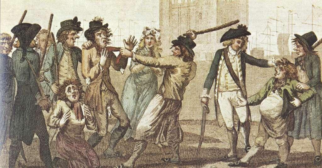 Le capitaine Bellamy était surnommé le Prince des Pirates. © British press gang