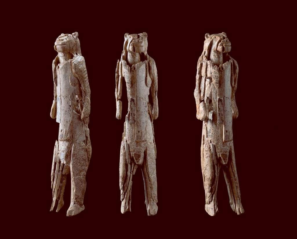L'homme-lion retrouvé à Hohlenstein-Stadel. © Ulmer Museum
