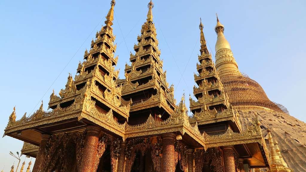 Bouddhisme : le temple U Phoe Thaung's Hall