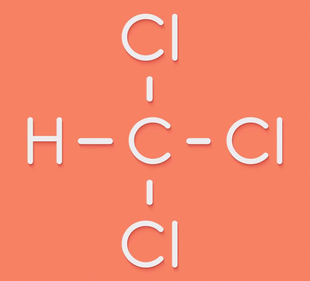 Le chloroforme est un liquide incolore et très volatil de formule brute CHCl3. © molekuul.be, Fotolia