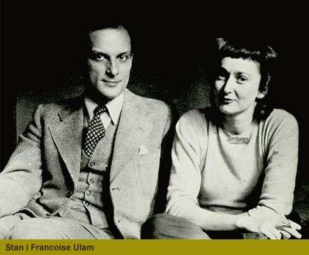 Stanislaw Ulam et sa femme Françoise