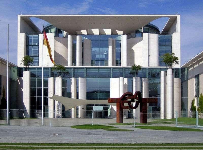 La chancellerie fédérale allemande, à Berlin