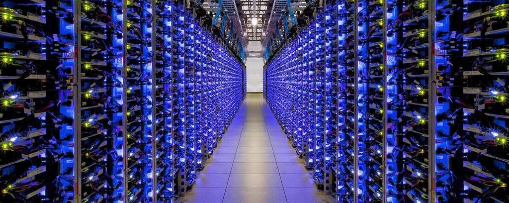 Exemple d'un datacenter. © Sashkin, Adobe Stock