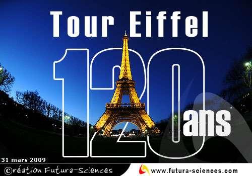 Tour Eiffel 120 ans