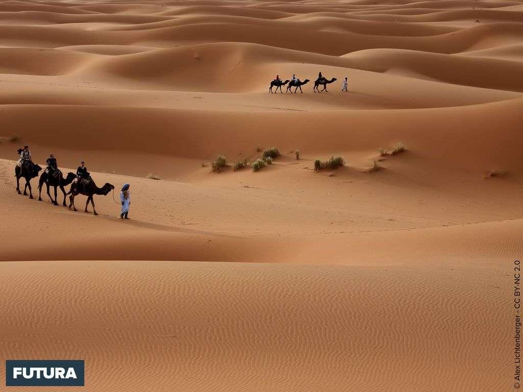 Maroc les beautés du désert