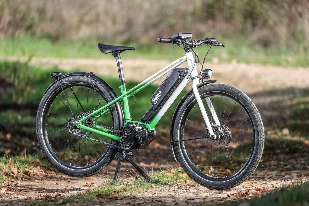 Le Smart e-Bike System de Valeo sur un vélo de trekking. © Valeo