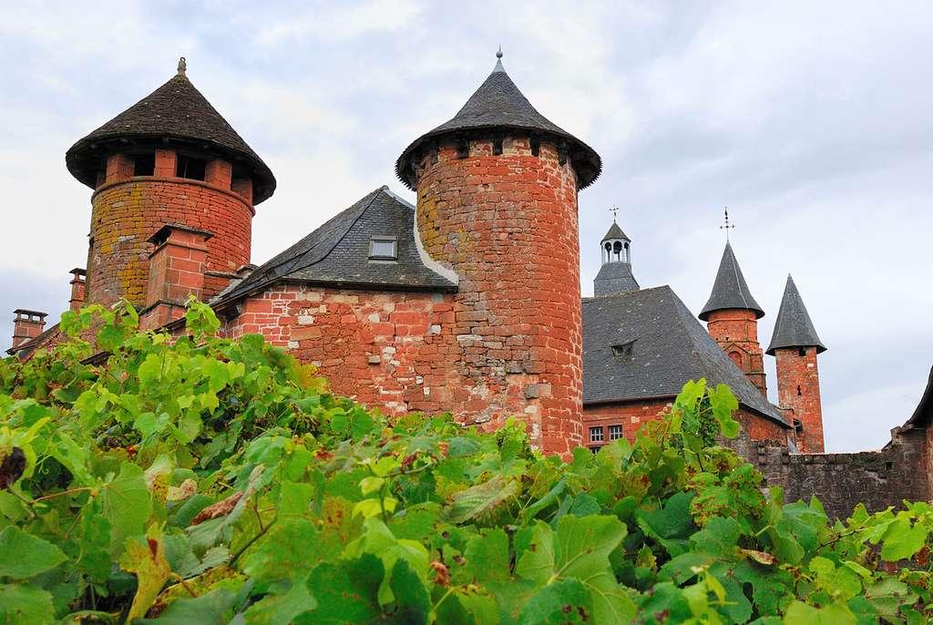 Vue sur Collonges-la-Rouge. © Sylvain Crousillat, CC by-nc 3.0