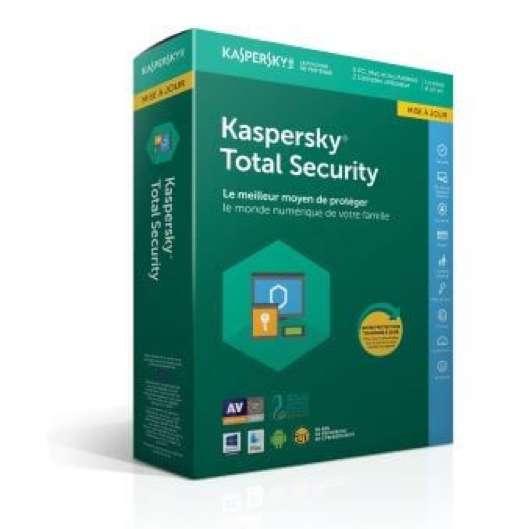 L'antivirus Total Security est la suite Kaspersky la plus vendue depuis sa fondation en 1997. © Kaspersky