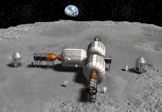Les ambitions de Bigelow Aerospace sont élevées. La société privée parie sur les modules gonflables qui seraient mieux adaptés pour l'implantation d'avant-postes spatiaux que les structures rigides. © Bigelow Aerospace