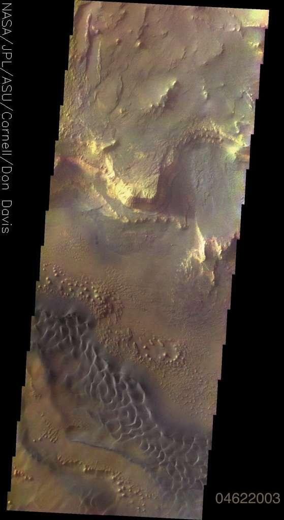 Mars en vraies couleurs