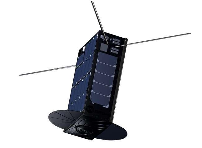 Le cubesat Bro-1, envoyé en orbite en août 2019. © Unseelabs