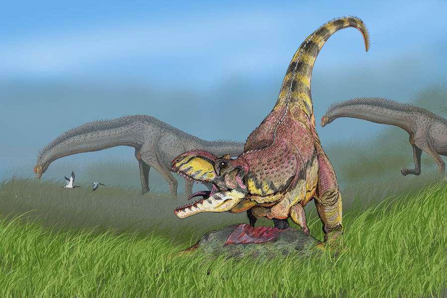 Rajasaurus narmadensis, un Abelisauridé plus tardif que les autres