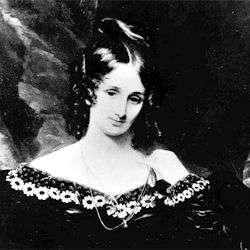 Mary Shelley est aujourd'hui célèbre pour avoir écrit le roman Frankenstein, présentant une créature née de l'imagination d'un savant. © DR