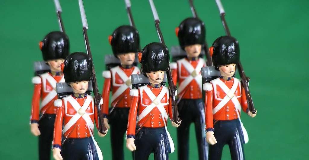Petits soldats de plomb. © Jcbutler - Domaine public