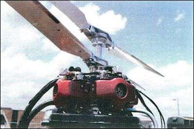 Détail du carénage moteurs du BDH-4. Crédit Esco