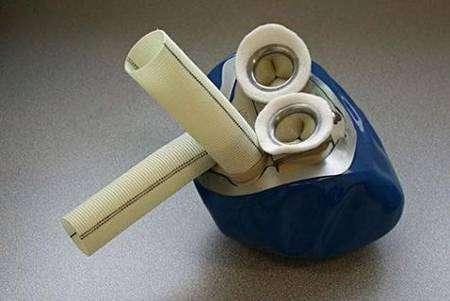 Le prototype du cœur Carmat. Crédit Carmat