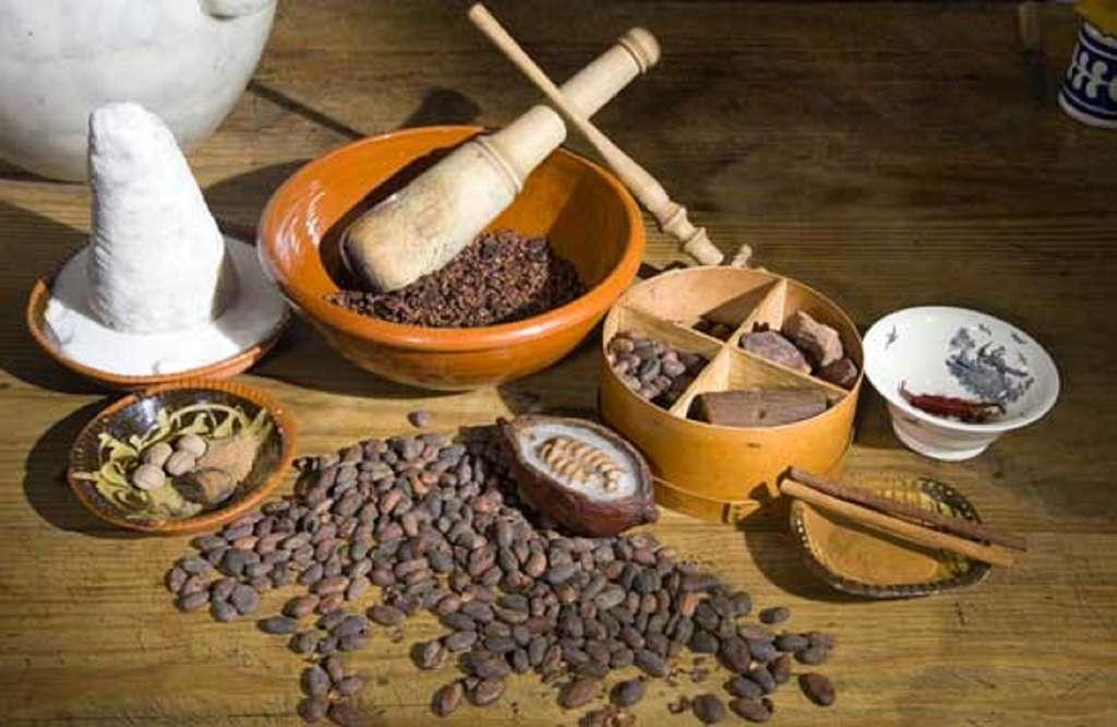 Ingredients pour fabrication du chocolat. © fotolia