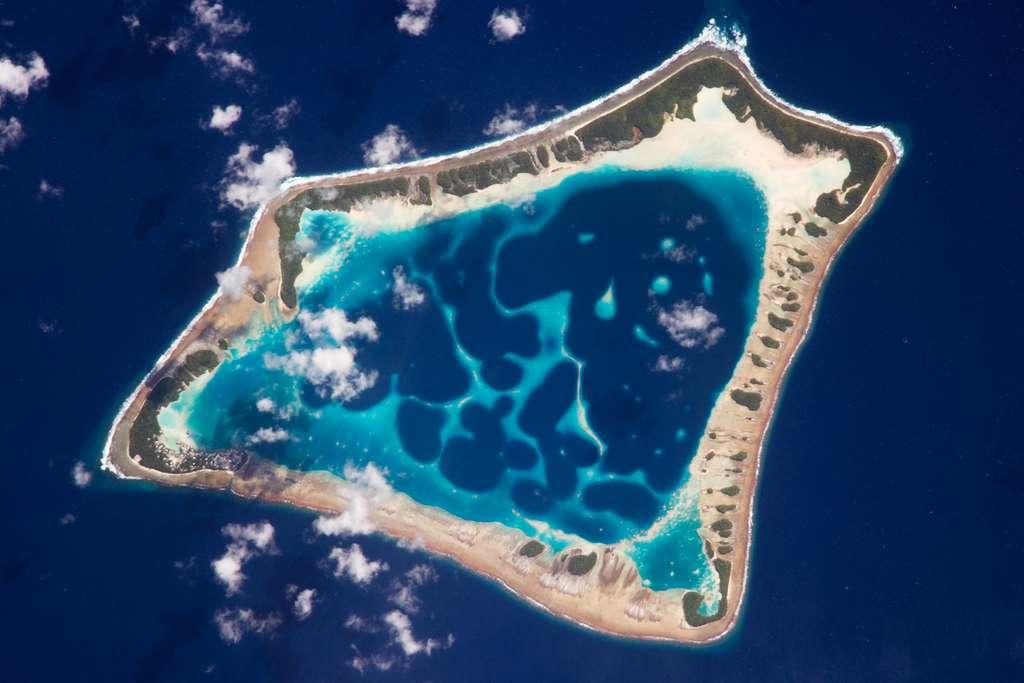 Atafu Atoll, Tokelau © Nasa, JSC