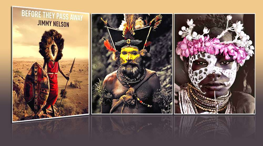 Before they pass away, Jimmy Nelson, éditions teNeues, octobre 2013.