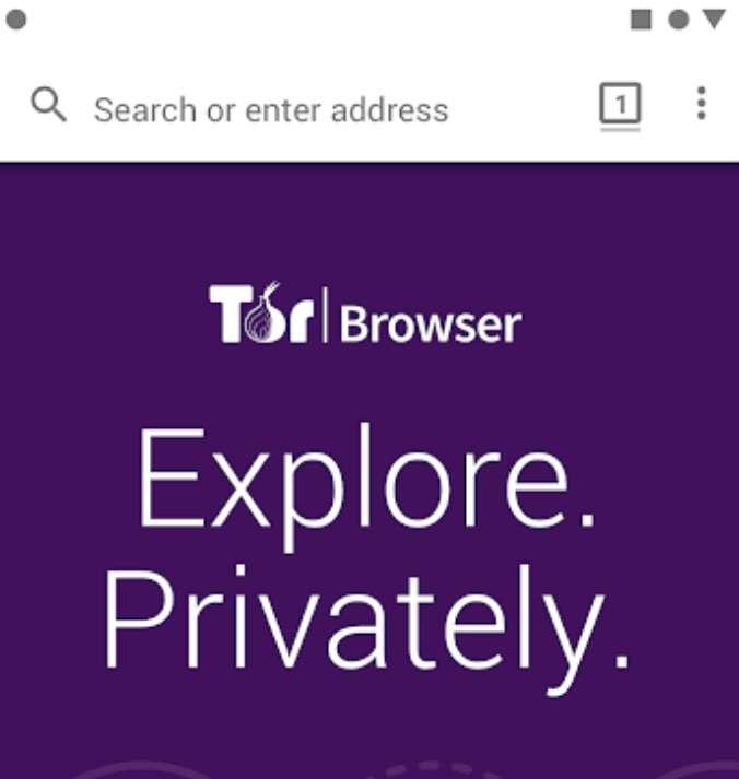 L'interface de Tor est très simple : il suffit de cliquer sur le cadre avec un petit 1 pour ouvrir un nouvel onglet. Lorsqu'on ferme le navigateur, toutes les données liées à la navigation sont effacées. © Tor