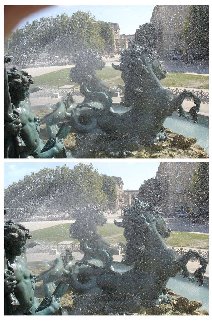 Bordeaux : monument des Girondins. © J.-P. Louvet