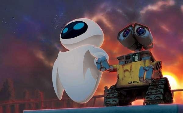 Wall-E et EVE, une vraie histoire d'amour. © Disney
