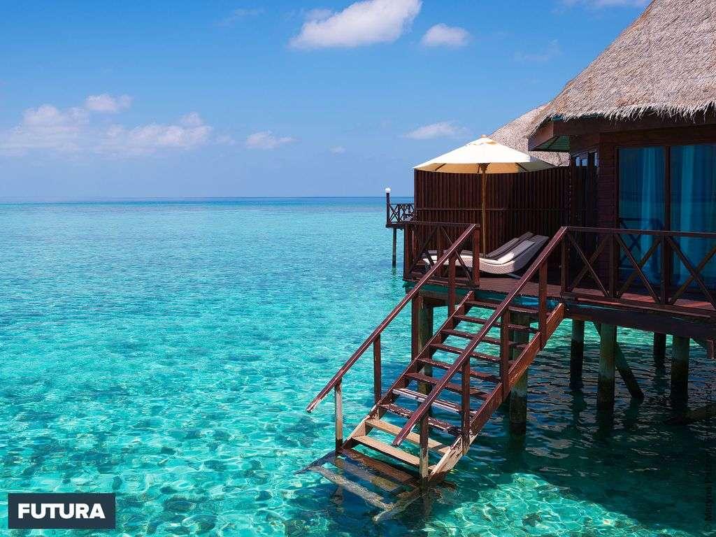 Tahiti lagon transparent