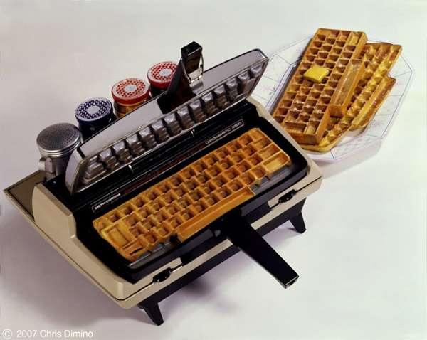 Le clavier gaufrier !