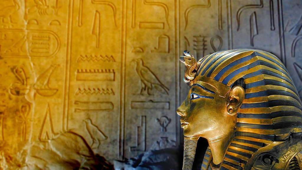 Le sarcophage de Toutânkhamon