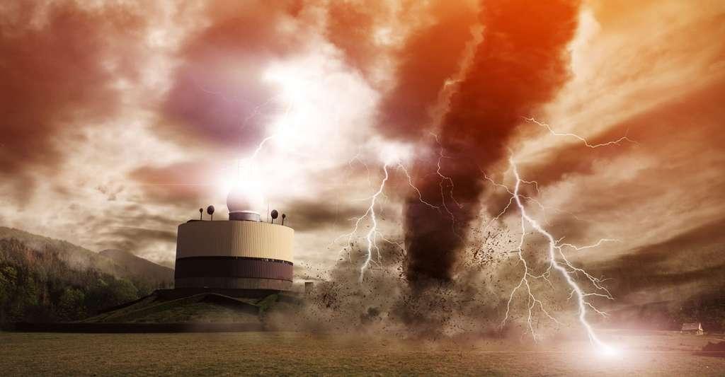 Cyclones : prévention et secours. © Sdecoret, Shutterstock