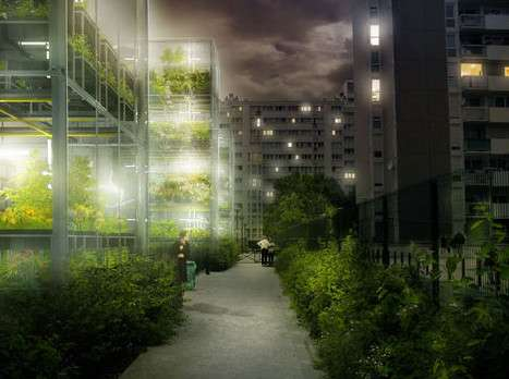 Un exemple de ferme urbaine. Cliquez sur l'image pour découvrir la galerie photo complète. © Tous droits réservés www.soa-architectes.fr