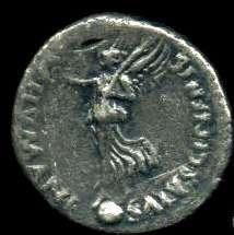 Cette pièce de monnaie frappée par les partisans du rebelle Vindex le représente comme le « sauveur de l'humanité ». © DR