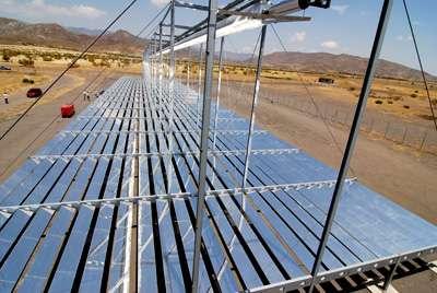 Installation solaire à Alméria en Andalousie. © DLR