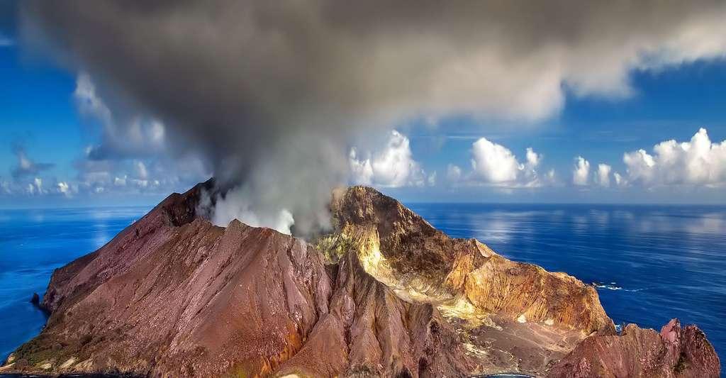 Volcan en Nouvelle Zélande. © Julius_Silver CCO