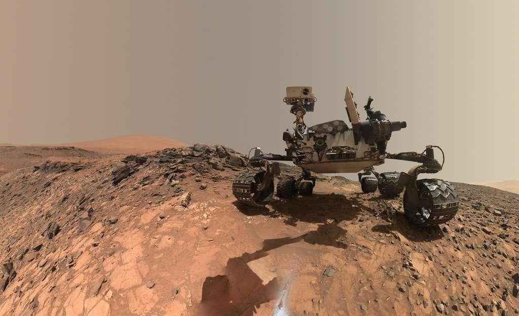 Selfie de Curiosity à « Buckskin »