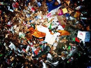 Avec l'explosion des déchets ménagers, le traitement des déchets a du évoluer Crédit : Chouffi///