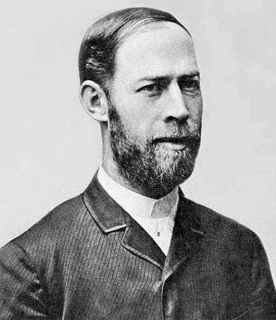 Heinrich Rudolf Hertz (né le 22 février 1857 à Hambourg, mort à Bonn le 1er janvier 1894). © Wikipédia-DP