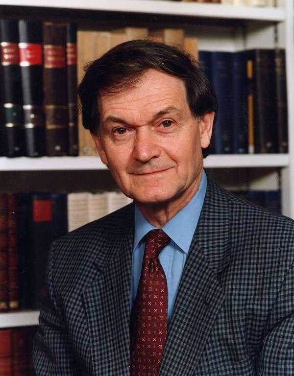 Sir Roger Penrose, le grand physicien et mathématicien britannique. © University of Georgia