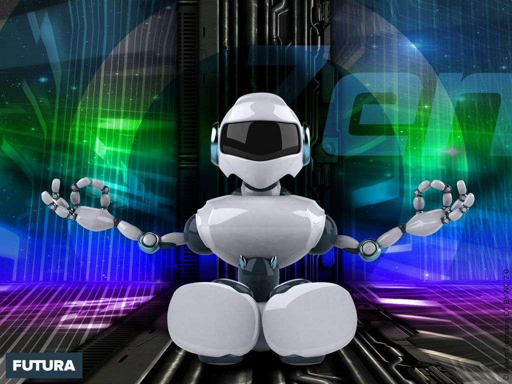 Robot zen attitude